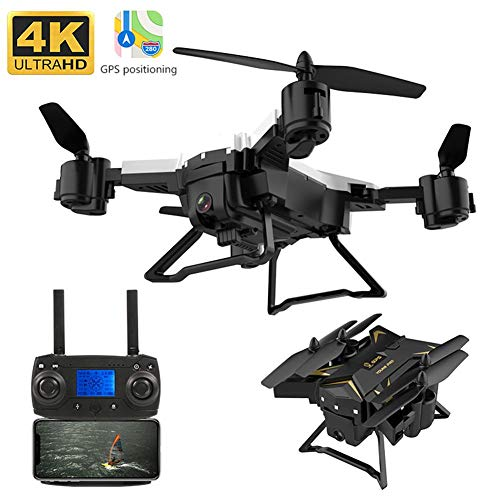 vogueyouth Drone KY601G con videocamera Live Video, 2.4GHz 6 Assi 4k HD 5G WiFi FPV Flight Quadricotteri RC con Custodia