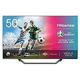 Hisense UHD TV 2020 50AE7400F - Smart TV 50' Resolución 4K, Dolby Vision, Wide Color Gamut, Audio DTS Virtual-X, Ultra Dimming, Vidaa U 4.0, Compatible Alexa