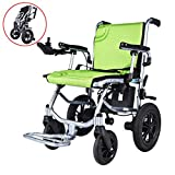 JL-GROUP Lightweight Wheelchairs for Adults, Electric Folding Carry Power Chair,Zinger Chair,Electric wheelchairs Lightweight Foldable