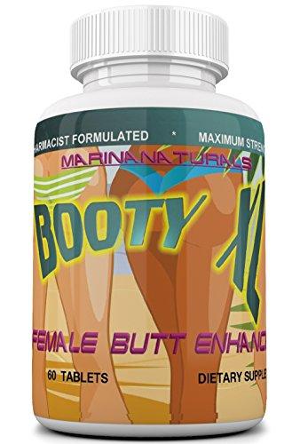 Booty XL Best Female Butt Enhancement & Enlargement Pills, Get a Firm, Fuller & Sexy Buttocks, Butt Enhancer. 2600Mg Formula (The Most Dense & Complete Formula Online). 1