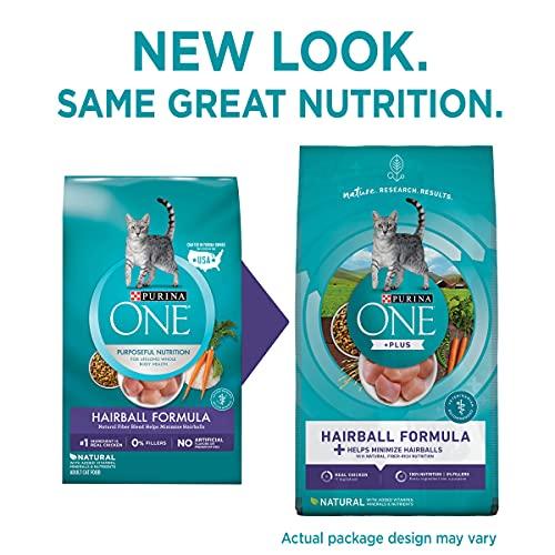 Product Image 2: Purina ONE Natural Dry Cat Food, Hairball Formula - 22 lb. Bag