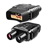 Rexing B1 Night Vision Goggles Binoculars with LCD Screen, Infrared (IR) Digital Camera, Dual Photo + Video Recording for Spotting, Hunting, Tracking up to 300 Meters (Black)