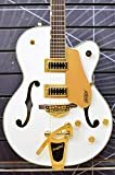 GRETSCH G5420TG-FSR Electromatic Hollow Body Single-Cut with Bigsby White フルアコギター グレッチ