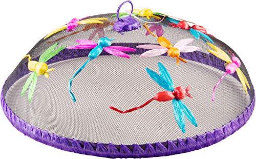 Palais Essentials Abdecknetz für Essensgitter, Kuppel, 30,5 cm – für Picknick, Essen libelle