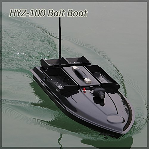 HYZ-100, 100 x 37 x 28 cm, telecomando R / C, 500 metri, alta velocit, per pesca alla carpa, barca, capacit: 7 kg con Toslon TF640 GPS Sonar Trovatore di pesci