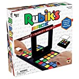 University Games Rubik's Race Game, Head To Head Fast Paced Square Shifting Board Game Based On The Rubiks Cubeboard, for Family, Adults and Kids Ages 7 and Up, Black (Toy)
