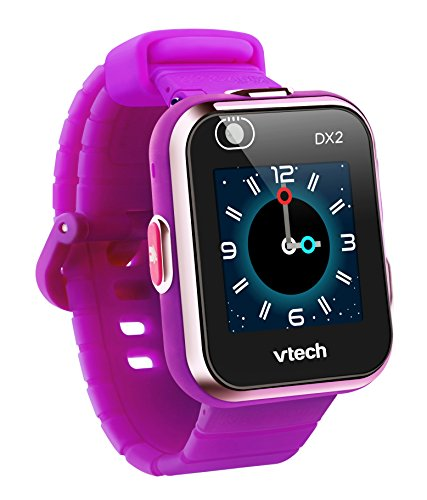 VTech KidiZoom Smartwatch DX2 (Frustration Free Packaging), Purple, Great Gift For Kids, Toddlers, Toy for Boys and Girls, Ages 4, 5, 6, 7, 8, 9, reg