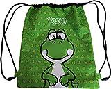 Mochila con cordón Yoshi de Super Mario Bros Green 62876-V