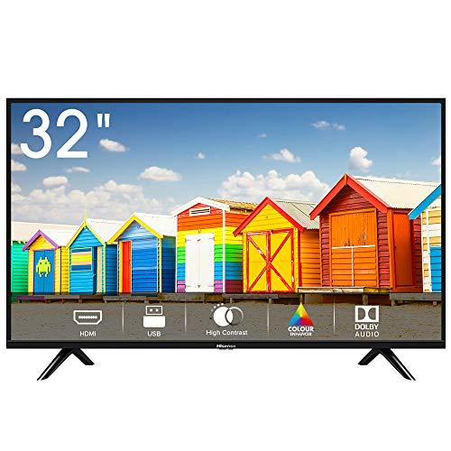 Hisense H32BE5000 TV LED HD 32', USB Media Player, Tuner DVB-T2/S2 HEVC Main10 [Esclusiva Amazon -...
