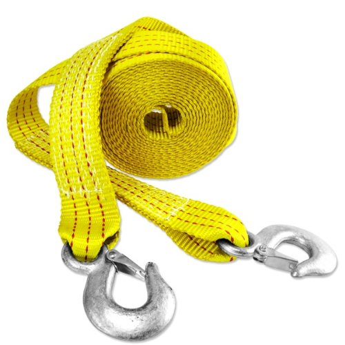 Presa 2-in x 20-ft Heavy Duty 10,000 lb Tow Strap with Hooks