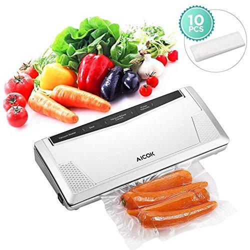 Aicok 2 in 1 Food Vacuum Sealer Machine