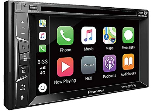 Pioneer AVH-1400NEX 6.2' Double-Din in-Dash Nex DVD Receiver with Bluetooth, Apple Carplay and Siriusxm Ready