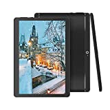BeyondTab Android Tablet with SIM Card Slot Unlocked 10 inch -10.1' IPS Screen Octa Core 4GB RAM 64GB ROM 3G Phablet with WiFi GPS Bluetooth Tablet (Black)