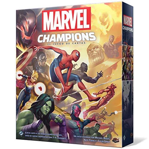 Fantasy Flight Games- Marvel Champions: El Juego de Cartas, Color (MC01ES)
