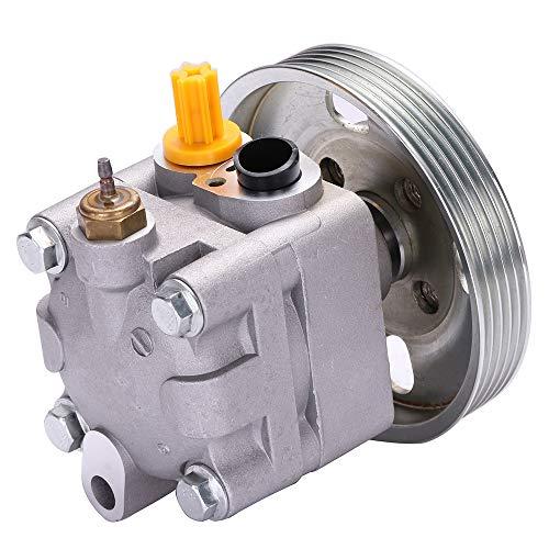 Power Steering Pump Fits for 03 04 05 06 Subaru Baja, 00 01 02 03 04 Subaru Legacy, 00 01 02 03 04 Subaru Outback CCIYU 21-5254 Power Steering Assist Pump