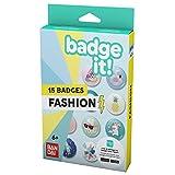 Bandai - Badge It! - Recharge Fashion pour machine à créer des badges Badges It ! - Loisirs créatifs - modèle aléatoire - 35411