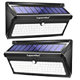 Luposwiten 100 LED Solar Lights Outdoor, 2000 Lumens Waterproof Wireless Solar Motion Sensor Lights Light with 125° Motion Angle,Easy-to-Install Security Light for Front Door,Yard,Garage,Deck (2-Pack)