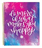 bloom daily planners All in One Ultimate Monthly & Weekly Undated Calendar Planner, Notebook, Sketch Book, Grid Pages, Coloring Book and More! 9' x 11' Do More of What Makes You Happy