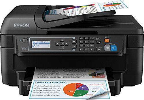 Epson WF-2750DWF Workforce Stampante a Getto d'Inchiostro, Multifunzione, Stampante, Scanner,...