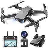 tech rc Drone avec Caméra 1080P HD WiFi FPV Télécommande WiFi APP, Drone...