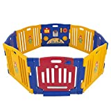 Best Choice Products 8-Panel Indoor Outdoor Home Baby Playpen Kids...