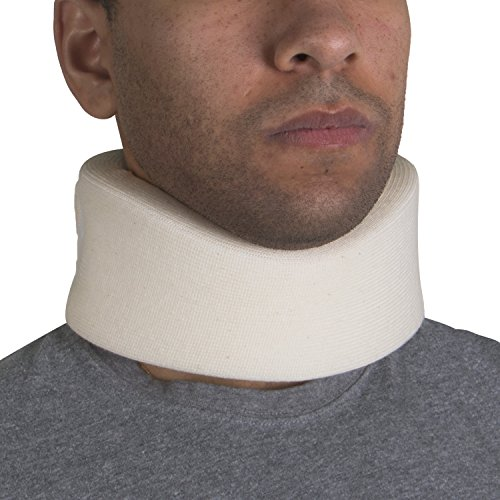 OTC Cervical Collar, Soft Foam, Neck Support Brace, Medium (Narrow 2.5' Depth Collar)