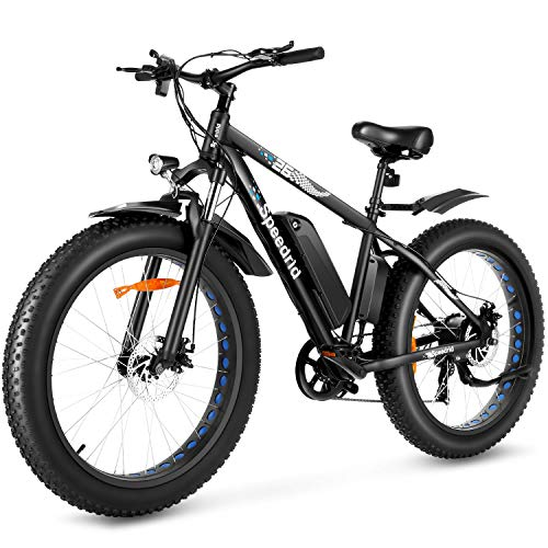 Speedrid Electric Bike 48V 500W Fat Tire...