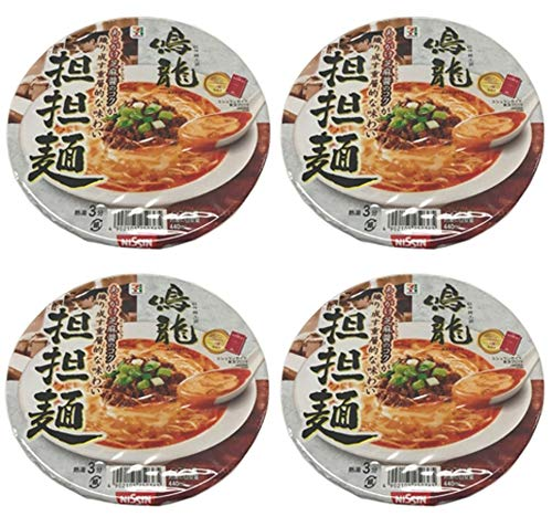 Nissin 7Premium Instant Cup Ramen Nakiryu Tantanmen 149g Japan Import Shipment with tracking number (4cups)