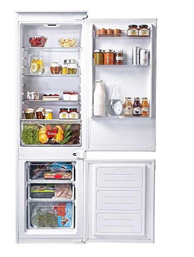 Candy CKBBS 100 Autonomo Frigo - Congelatore (250 L, N-ST, 40 dB, 3,5 kg / 24h, Bianco) [Classe...