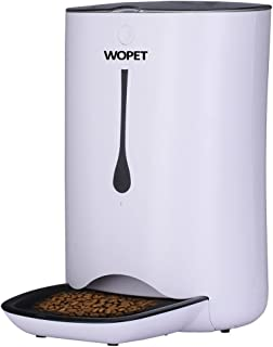 WOPET Automatic Pet Feeder Food Dispenser for Cats and Dogs–Features: Distribution..
