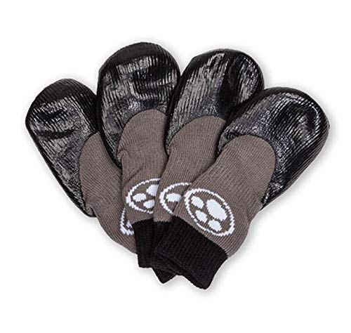 Grippers Non Slip Dog Socks   Traction Control for...