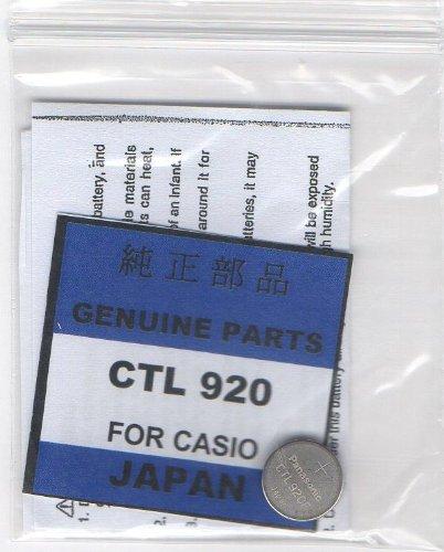 CASIO[カシオ]G-SHOCK タフソーラー用 純正二次電池[充電池] CTL920F CTL920 キャパシタ