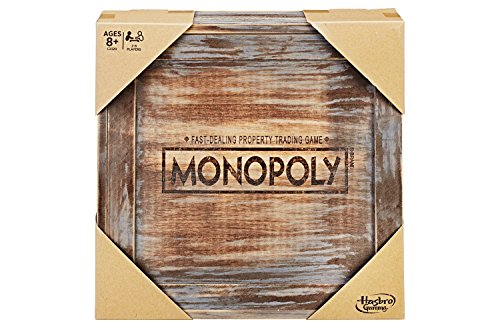 Monopoly - Rustic Series Board Game (Toy)