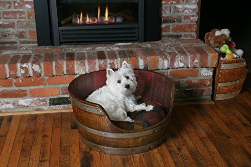 Wine Barrel Creations Wine Barrel Pet Bed