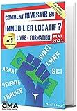 Comment INVESTIR en IMMOBILIER LOCATIF ? Livre - Formation: Pinel LMNP SCI Achat Revente...