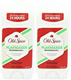 Old Spice High Endurance Invisible Solid Antiperspirant Deodorant, Playmaker Scent, 3 Ounce (Pack of 2)
