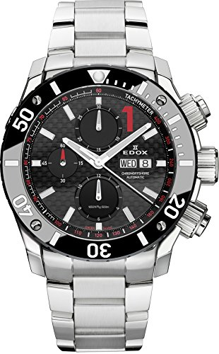 Edox Herren-Armbanduhr Chronoffshore 1 Chronograph Analog Automatik 01115 3 NIN