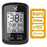 XOSS G+ GPS Wireless Bike Computer, Bluetooth ANT+ Speedometer, Bicycle Speedometer Odometer, Cycling Computers with Cadence (ONE G+)