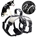 Secure Dog Harness - Escape-Proof Reflective Dogs Vest with Lift Handle for Training Outdoor Adventures