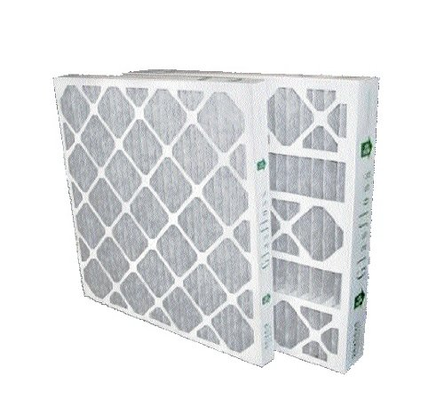 16x25x4 Merv 8 Furnace Filter (6 Pack) by Glasfloss...