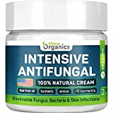 Antifungal Cream - Extra Strength - Made in USA - Effective Toenail Fungus Treatment and Ringworm Treatment for Humans - Combats Body Acne, Athletes Foot, Jock Itch - 100% Natural - 2 OZ
