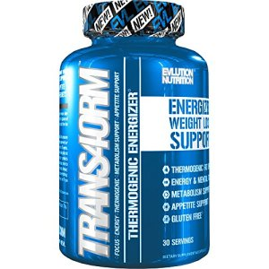 Evlution Nutrition Trans4orm - Complete Thermogenic Fat Burner for Weight Loss, Clean Energy and Focus with No Crash, Boost Metabolism, Suppress Appetite, Diet Pills, 30 Servings 16 - My Weight Loss Today