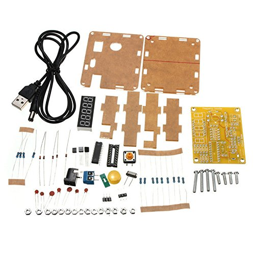 HUABAN 1Hz-50MHz Crystal Oscillator Tester Frequency Counter DIY Kits