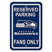 Official NFL License Merchandise QUALITY: High quality flexible light-weight plastic Bright Team Colors with logo SIZE: 12 x 18 USES: Home, Office, Man Cave, Garage, etc.....