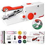 Handheld Sewing Machine, Mini Portable Electric Sewing Machine for Beginners Adult, Easy to Use and...