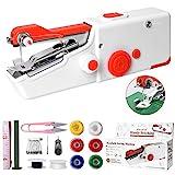 Machine à Coudre Portable, Mini Machine à Coudre Électrique Portable pour...