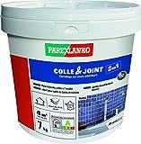 Parexlanko, Colle & Joint 2 en 1, Pâte pour collage de carrelage et réalisation de...