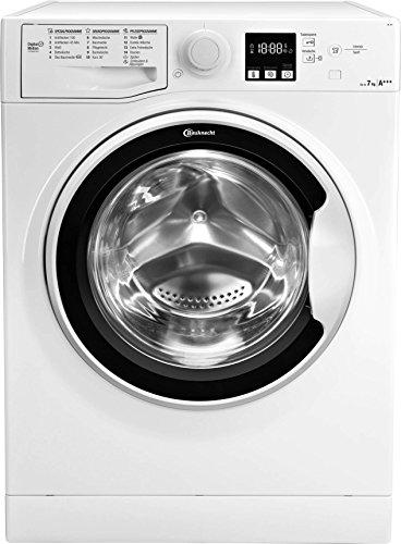 Bauknecht AF 7F4 Waschmaschine Frontlader / A+++ / 1400 UpM / 7 kg / Weiß / langlebiger Motor / Nachlegefunktion / Wasserschutz