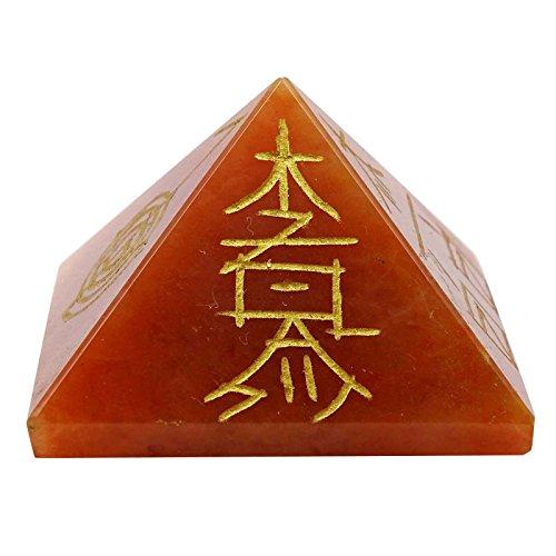 Harmonize Generador de Energía pirámide de Cristal aventurina Piedra Reiki