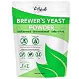 Brewers Yeast Powder - Organic Nutritional Yeast Powder & Active Yeast - Lactation Support & Lactation Supplement for Increased Breast Milk - Yeast for Bread & Yeast for Baking Lactation Cookies